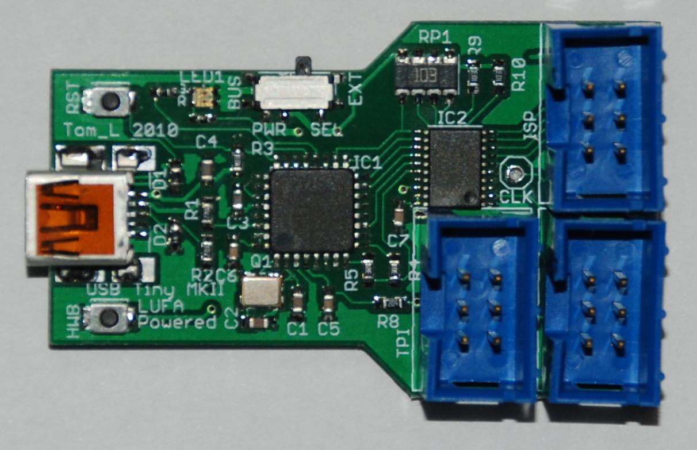 USBTiny Mkii Programmer Mods