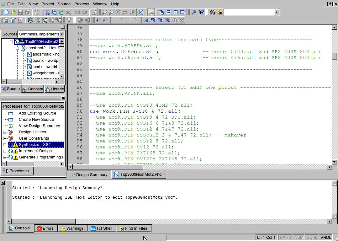 Linuxcnc Bitfiles for MESA HostMot2 Spartan2 boards